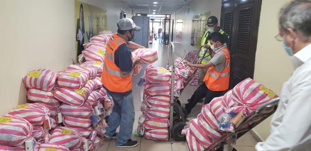 Entregamos donación de bolsas de alimentos para Tegucigalpa y San Pedro Sula 01
