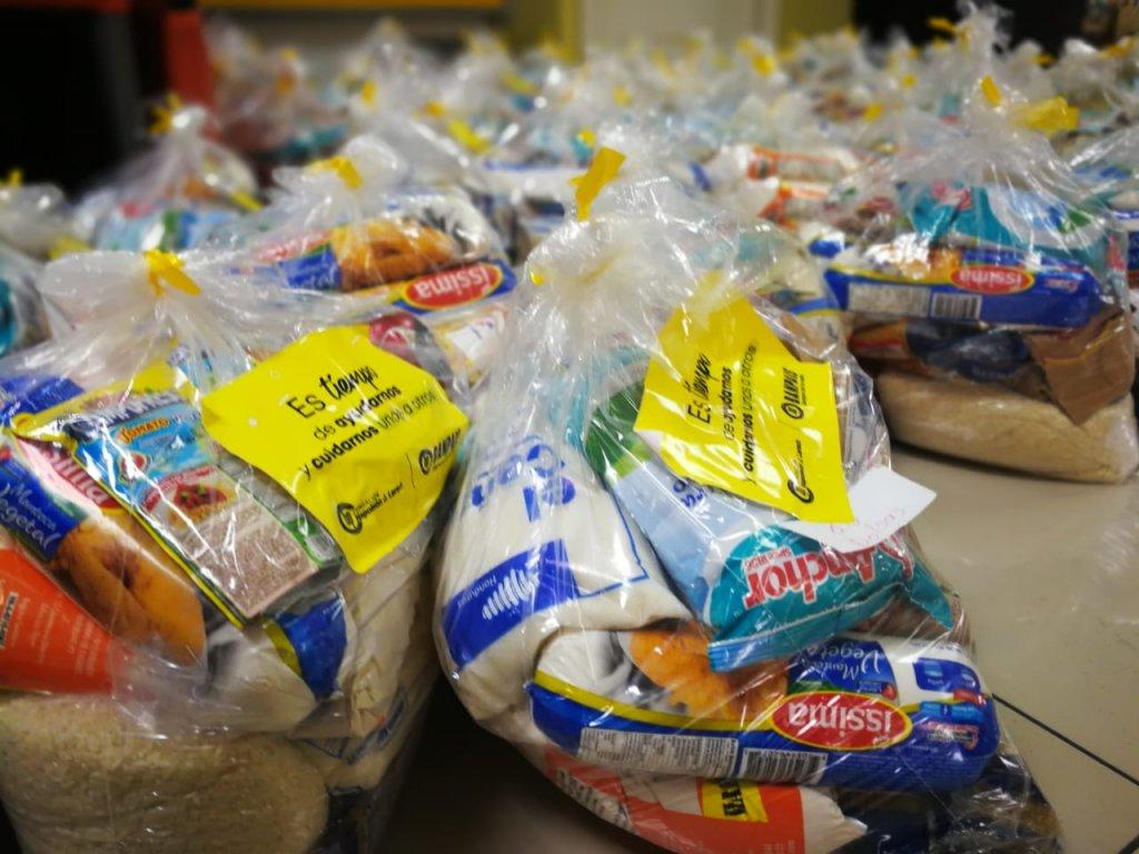 Entregamos donación de bolsas de alimentos para Tegucigalpa y San Pedro Sula 02