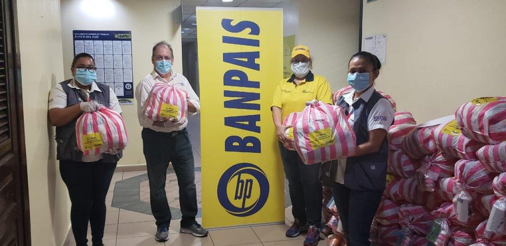 Entregamos donación de bolsas de alimentos para Tegucigalpa y San Pedro Sula 03